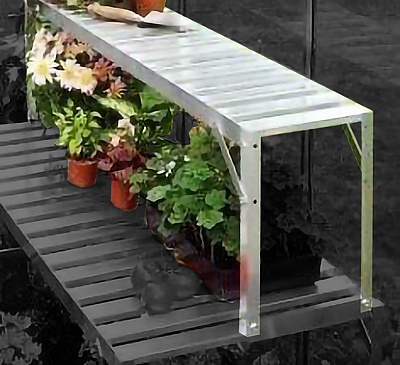 Vitavia Silver Top Tier Staging Extension