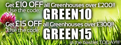 Money off Greenhouses