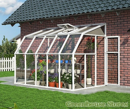 Rion Sun Room 6x10 Lean to Greenhouse