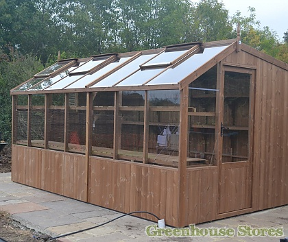 Swallow Rook 8x8 Wooden Potting Shed