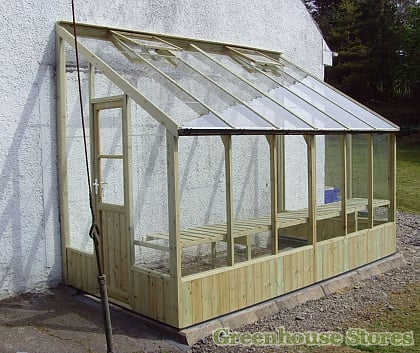 swallow dove lean to greenhouse 6ft x 12ft