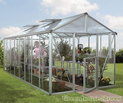 Vitavia Zeus 8x15 Greenhouse - 4mm Float Glazing