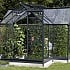Eden Orangery Greenhouse in Anthracite Grey