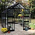 Eden-Blockley-8x10-Black-Aluminium-Greenhouse