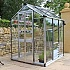Eden Birdlip 4x6 Greenhouse in Aluminium