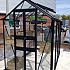 Eden Birdlip 4x8 Greenhouse in Black with Toughened Glazing