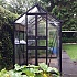 Eden Birdlip 4x8 Zero Threshold Greenhouse in Black