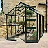 Eden Burford 6x10 Green Greenhouse with Zero Threshold Base