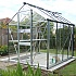 Eden Burford Silver 8x6 Greenhouse Featuring Toughened Glazing