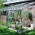 Eden Lean to 6x12 Greenhouse with Horticultural Glazing