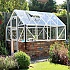 6x8 Elite Dwarf Wall Greenhouse in White