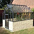 Elite Thyme 6ft Dwarf Wall Greenhouse in Grey Powder Coating