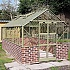 Elite Thyme 8x14 Dwarf Wall Greenhouse with Toughened Glass
