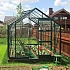 Green 6x8 Elite Belmont Greenhouse