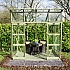 Elite Edge Pent Roof Greenhouse Double Doors