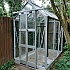 Elite Compact 4x6 Greenhouse with Toughened Glazing