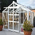 Elite Titan 700 7x8 Greenhouse in White Powder Coating