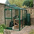Elite Windsor 4x6 Lean to Greenhouse with Flat Cills