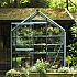 Evika G1 6x2 Squirrel Grey Greenhouse with Clear Acrylic