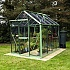 6x8 Evika G1 Greenhouse in Pale Green