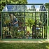 Evika G1 6x8 Greenhouse in Pale Green High Eave