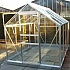 Halls 6x8 Popular Greenhouse in Aluminium