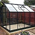 Halls Popular 6x8 Greenhouse with Horti Glass