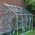 Halls Europa Silver 8x4 Lean to Greenhouse