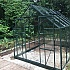 Halls Magnum Green 8x10 Greenhouse with Toughened Glazing Side