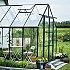 Halls Magnum Green 8x14 Greenhouse Side