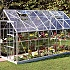 Halls Magnum Silver 8x14 Greenhouse Side