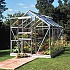 Halls Popular Silver 8x6 Greenhouse Horti