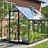 Halls Qube 6x10 Greenhouse Corner Side View