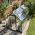 Halls Qube 6x10 Greenhouse Elevated Side View