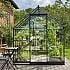 Halls Qube 6x10 Greenhouse Front View