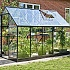 Halls Qube 6x10 Greenhouse Vent Side View