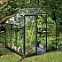 Halls Qube 6x6 Greenhouse Left Side View