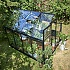 Halls Qube 8x6 Greenhouse Side Elevated View