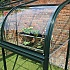 Halls Silverline Lean to Greenhouse Acrylic Curve