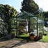 Halls Supreme Green 8x12 Greenhouse Front