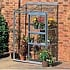 Halls 2ft x 4ft Wall Garden Lean to Greenhouse