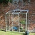 Halls 2x6 Wall Garden Lean to Greenhouse With Work Bench