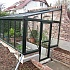 Janssens Arcadia Plus Mur Lean To Greenhouse