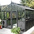 10x16 Janssens Helios Retro Greenhouse Gable