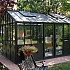 7x7 Janssens Helios Retro Greenhouse Black