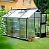 Juliana Compact 7x9 Greenhouse with Polycarbonate Glazing