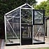 Juliana Silver Compact 7x9 Greenhouse with Stable Door