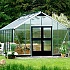 Juliana Silver Gardener 12x19 Greenhouse Full Polycarbonate Glazing