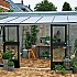 Juliana 7x14 Silver Lean to Greenhouse with Stable Doors