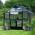 Juliana Premium Greenhouse with Polycarbonate Glazing Stable Door